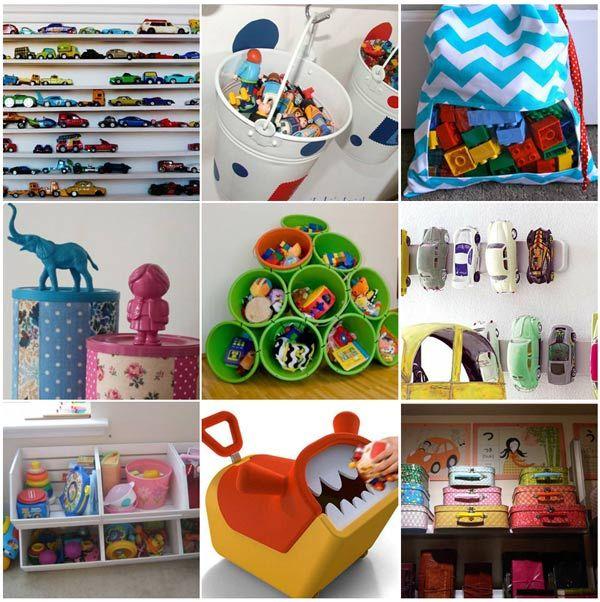 Plus de 10 idées pour ranger les jouets des enfants | La cabane à idées