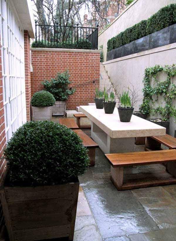 126 besten Hofgestaltung Bilder auf Pinterest Garten terrasse