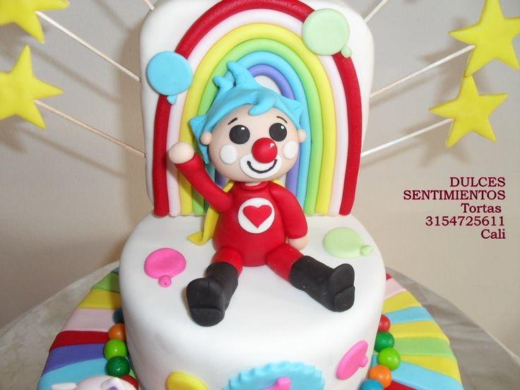 Torta infantil payasito Pin Pin  Hermosas y deliciosas  Pedidos Whatsapp :3154725611 Cali - Colombia