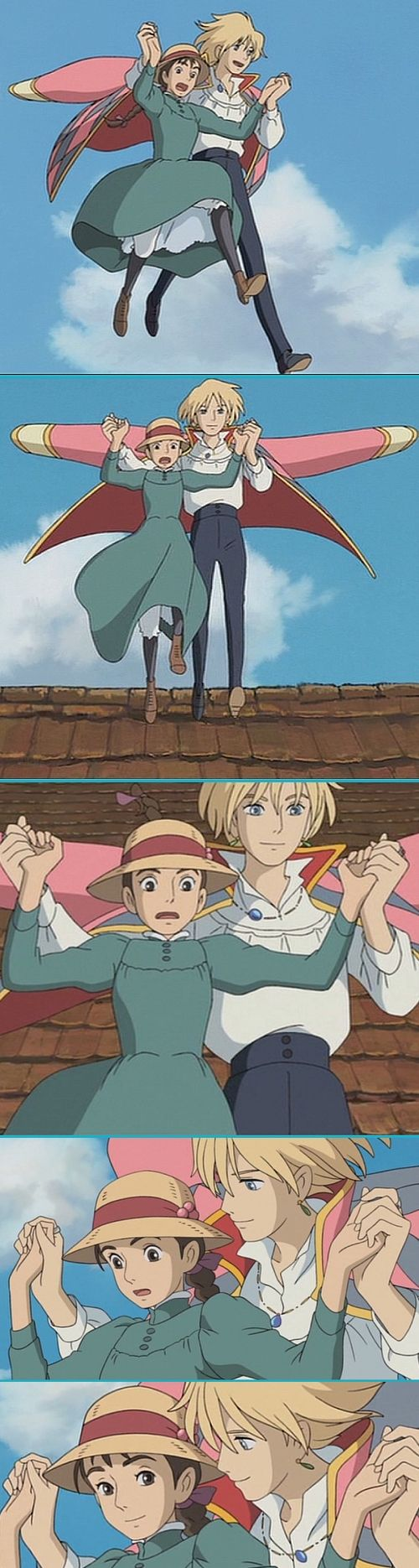Howl's Moving Castle 3 ;)