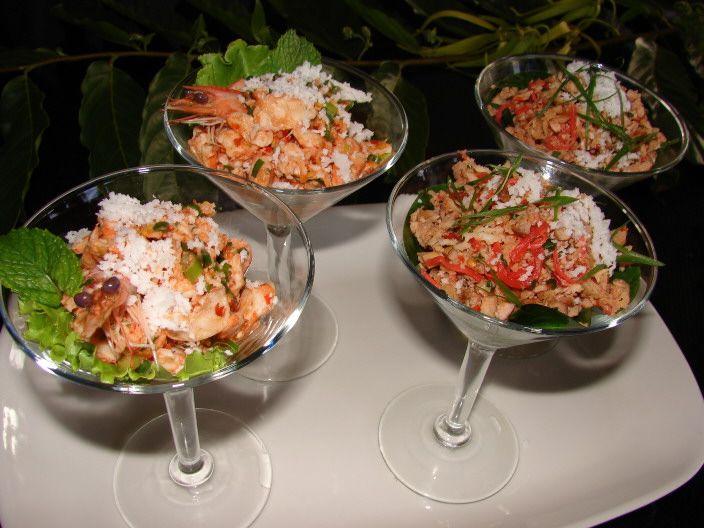 Shrimp Kelaguen, Micronesian Ceviche