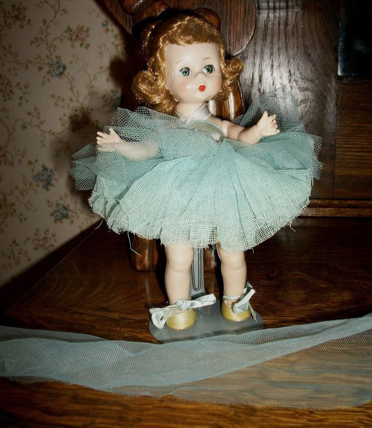 "1950' Madame Alexander 8"" Ballerina Doll in very good vintage condition #MadameAlexander"