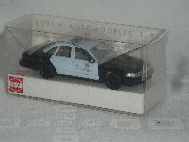 Busch 1//87 47706 Ford Model AA Kasten Police Patrol Nr.2 OVP #056