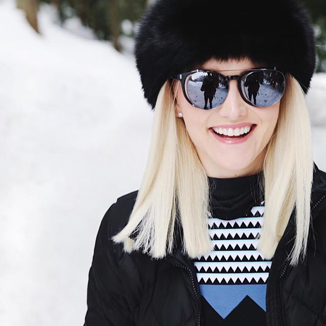 Don't forget to protect your eyes... even in the snow! @misslva picked out this pair of shades from @spysunglasses @irisvisualgroup with removal sunglasses for when you go inside... #MyIrisVision