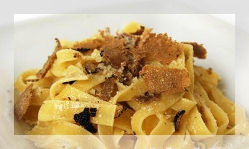 Tagliatelle with truffles - Original Food Italy