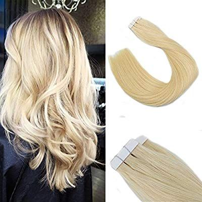 22 Inch Seamless Skin Weft Tape in Remy Hair Exten…