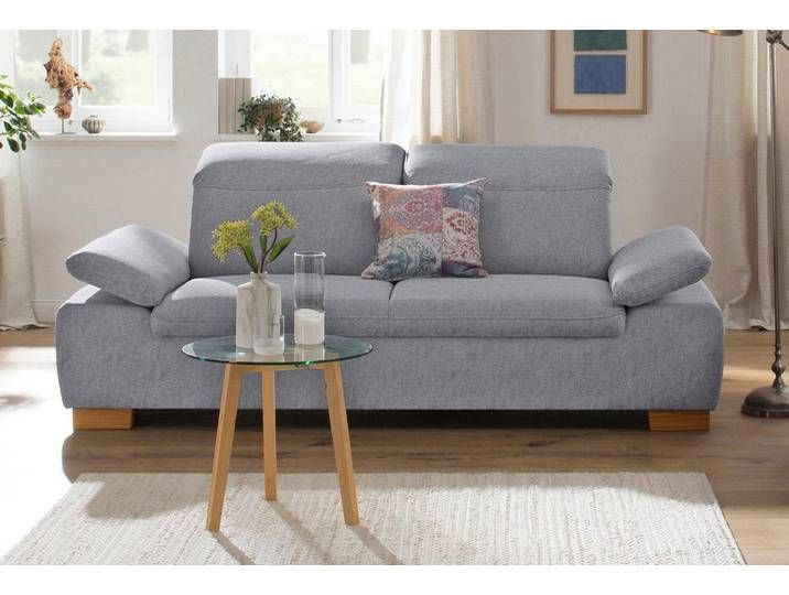 Home Affaire 2 Sitzer Maven Mit Kopfteil Und Armlehn Verstellung Home Decor Sofa Home