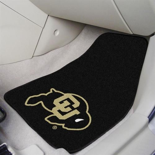 University of Colorado Buffaloes Car Auto Floor Mats Front Seat