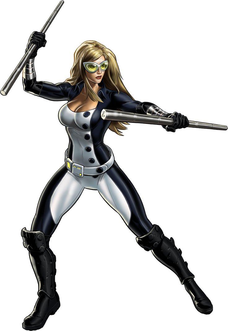 Playing  Marvel: Avengers Alliance? Don't forget Mockingbird!