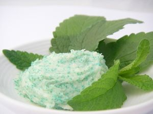 "Mint Twist Exfoliating lip scrub.  There are so many ""exotic"" recipes for scrubs, oils, lots of body care.  Interesting and different ingredients (might be a bit more costly, but makes the products more exquisite?)"