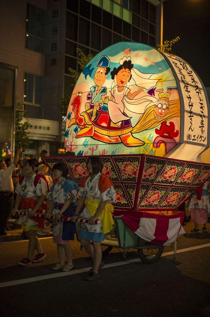Nebuta Festival in Sakurashinmachi, Tokyo, Japan