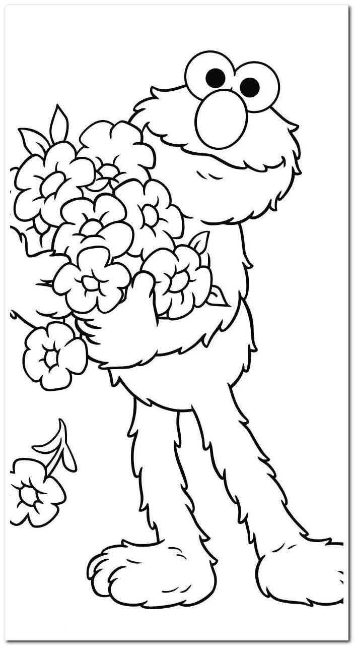 30 Coloring Pages Kerby Rosanes Coloring In 2020 Sesame Street Coloring Pages Elmo Coloring Pages Birthday Coloring Pages