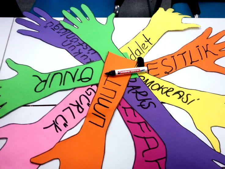 10 Aralık İnsan Hakları Evrensel Beyannamesi Yıldönümü Degerler egitimi icinde uygun olabilir