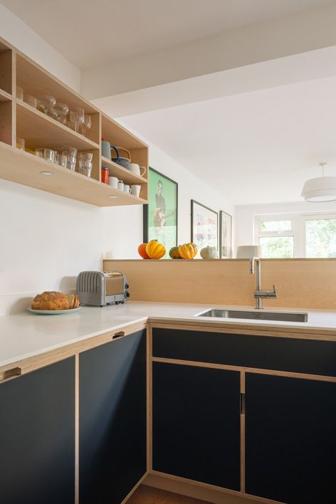 Bespoke Maple Plywood Kitchen by Uncommon Projects