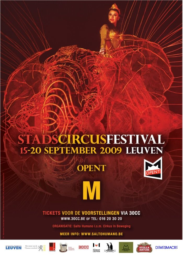 Stadcircusfestival Leuven 2009 by Griet Coenen at Coroflot.com