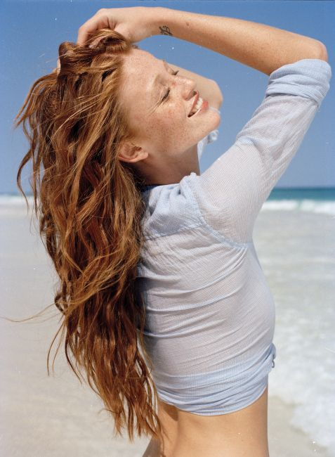 For Redheads Cintia Dicker By Emmanuelle Hauguel