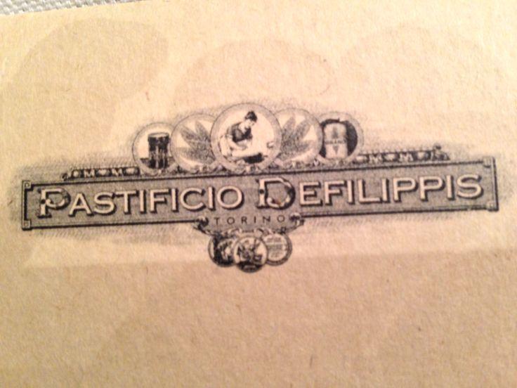 Pastificio Defilippis - fantastic pasta shop & restaurant in Turin founded in 1872