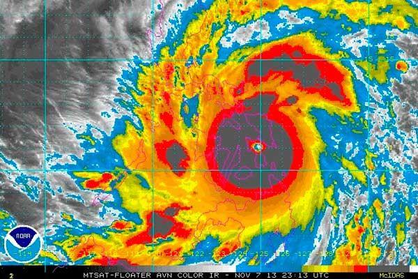 qué son los huracanes y las tormentas tropicales. Haiyán.
