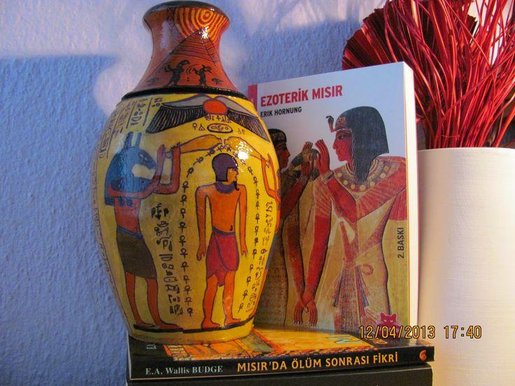 KAHVE YANI MAKYAJ: Antik Mısır Teması