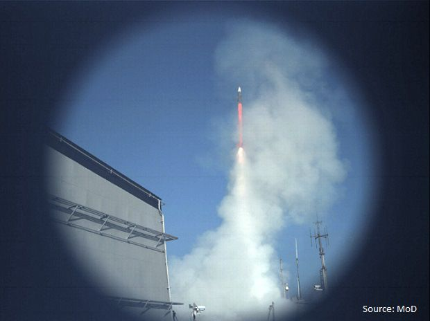 The Indian Navy on Wednesday successfully test-fired the long-range surface-to-air missile, Barak-8, from onboard INS Kolkata. The missile system is being jointly developed by IAI, DRDO, Israel's A...