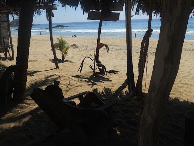 Playa Zipolite Oaxaca Mx