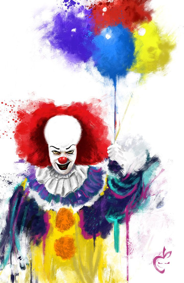 Pennywise SPLAT by Deviantapplestudios