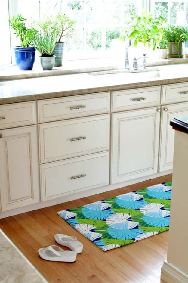 Fabric Floor Mat Home Decor Sewing Projects For Nifty And Thrifty Makeovers Diyhomedecorsewing