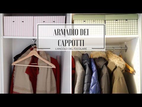 L'angolo del focolare: Organizzazione armadio dei cappotti, sciarpe e indumenti stagionali