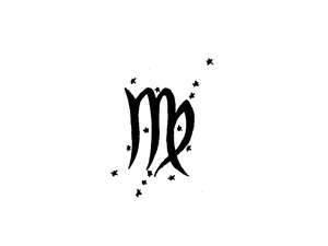 Free Designs  Virgo Zodiac And Stars Tattoo Wallpaper
