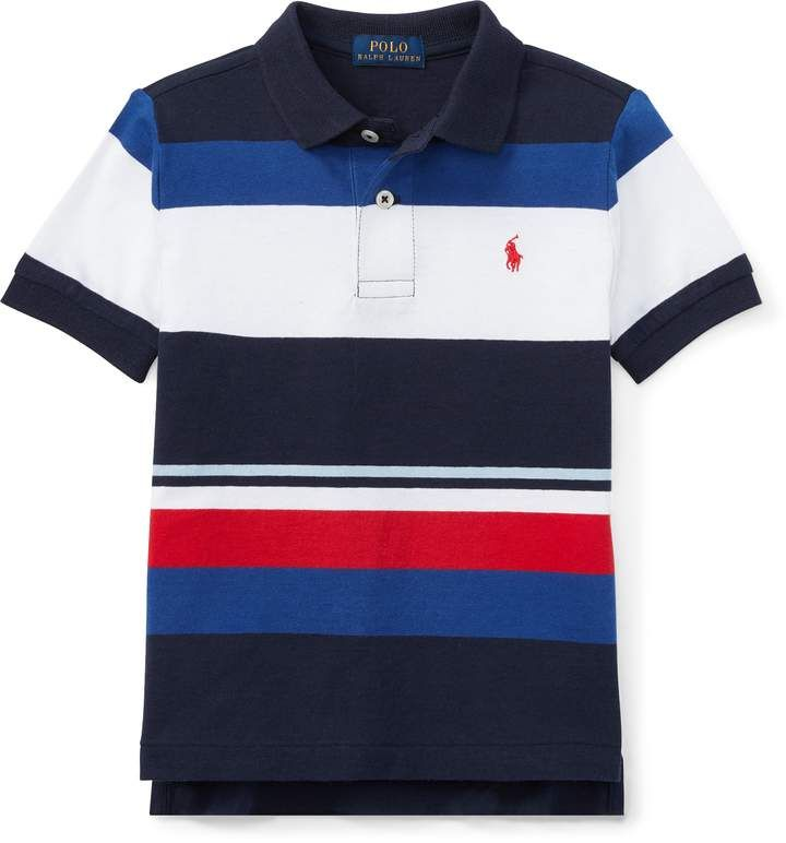 LACOSTE polo kids short sleeve blue model Capitaine new 100/% cotton