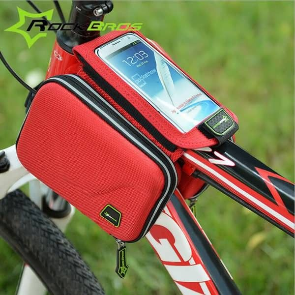 ROCKBROS MTB Saddle Bag Touch Screen Mobile Phone Package Bicycle Front Bag  Worldwide delivery. Original best quality product for 70% of it's real price. Buying this product is extra profitable, because we have good production source. 1 day products dispatch from warehouse. Fast &...