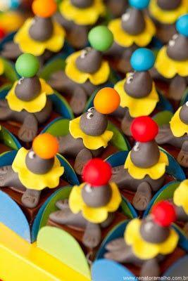 75 ideias para uma festa circo! : Mil dicas de mãe # imagem 39