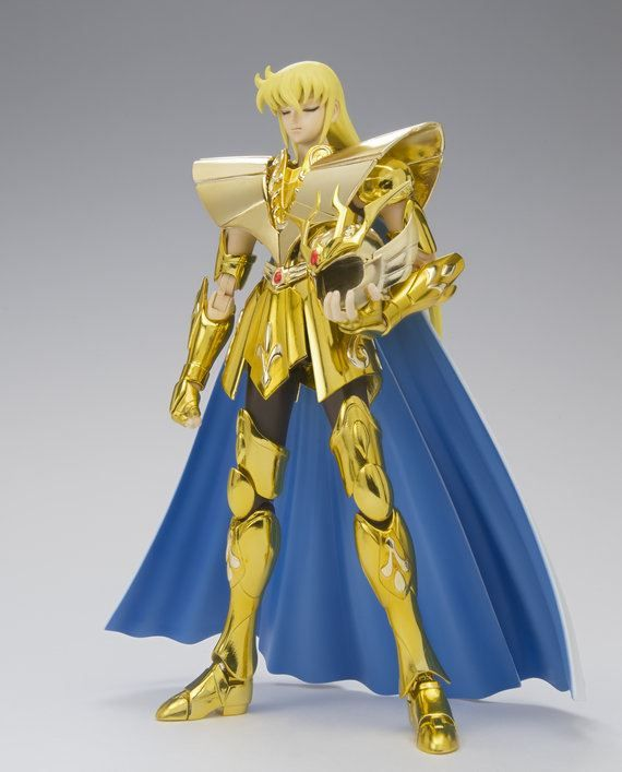 Caballero de Virgo Myth Cloth EX, está impresionante (sí, mi signo es virgo, :p)