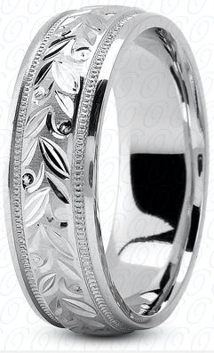 Hand Made Mens ring design, 7mm wide with Hand Engraving and Mill Grain edge design, any finger size , (M1079), Available in 5.6.7.8mm width and Comfort Fit. The ring is made to order, and is a Specia