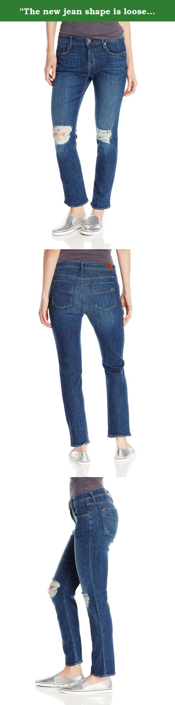 """The new jean shape is loose fit and cropped. It's time to pack away those skinnies!"" Denimocracy Women's Presley Cuffed Boyfriend Jean In Cat Fight. Democracy Presley cuffed boyfriend jean."