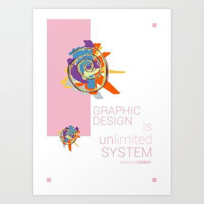 Graphic Design Art Print by Abanoub Sobhy - $18.88