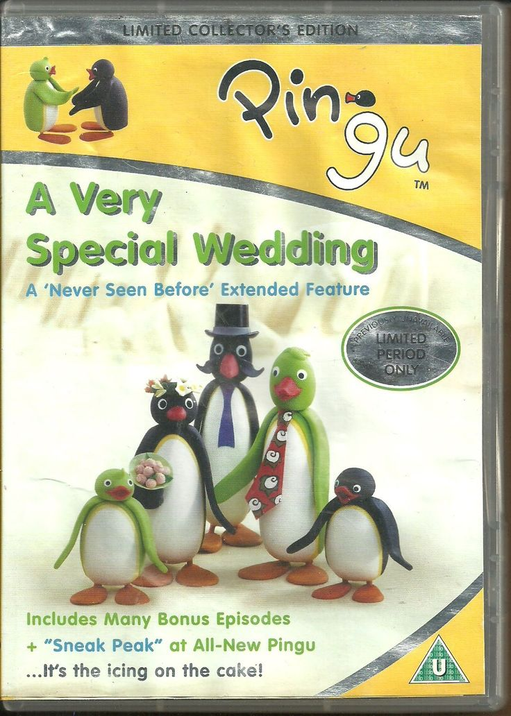 Movie DVD Pingu A Very Special Wedding - Limited Collector's Edition Region 2 UK CAN$ 10.00 + shipping