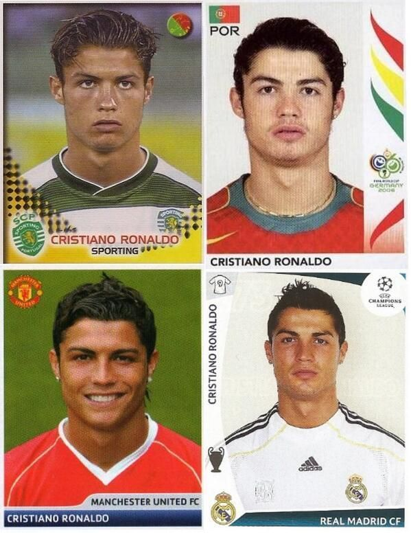 Cristiano Ronaldo of Sporting Lisbon, Manchester United, Real Madrid and Portugal