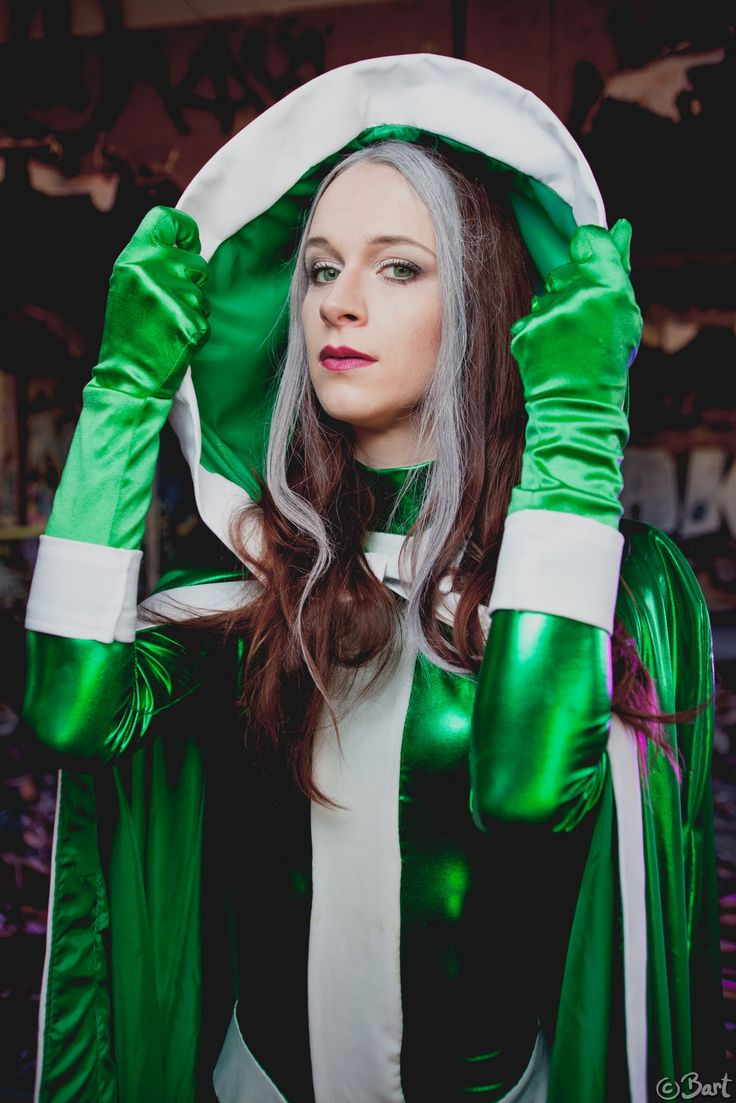 Cosplay de Rogue Malicia X-men #X-men #xmen #malicia #rogue #comic #marvel #cosplay