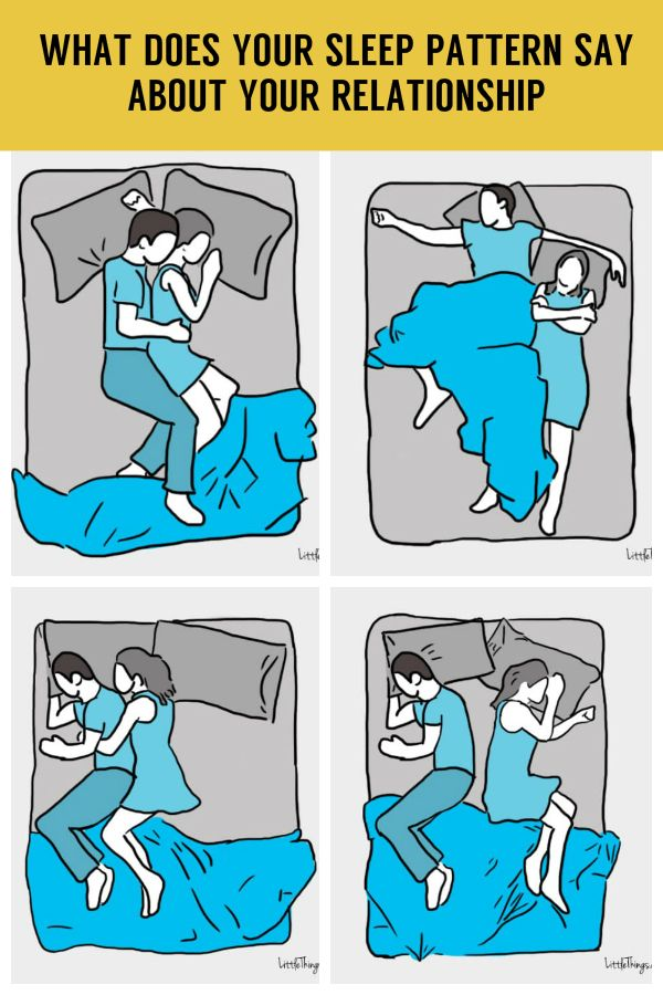 Here's what your sleeping pattern says about your relationship. Brace yourself!
