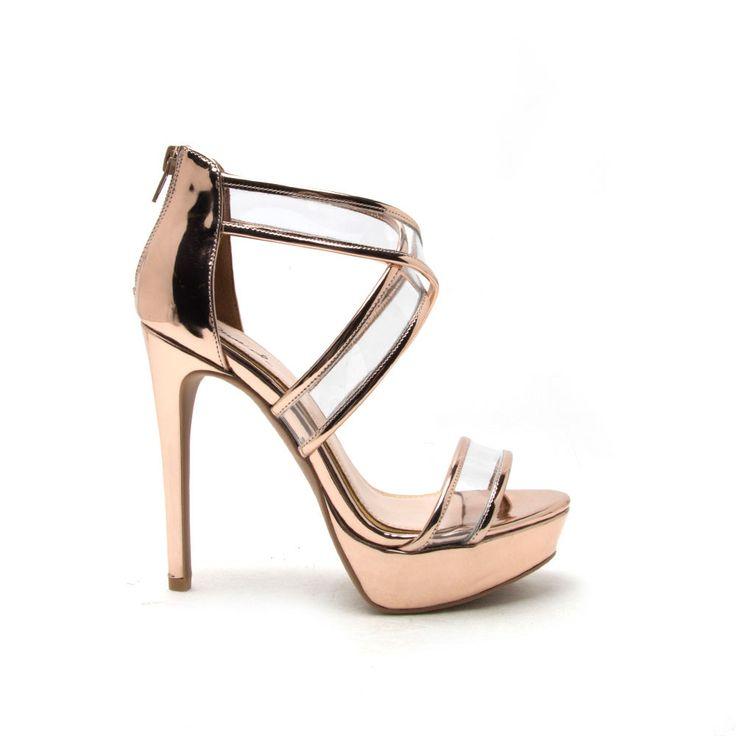 Best 25  Rose gold heels ideas on Pinterest   Rose gold shoes ...