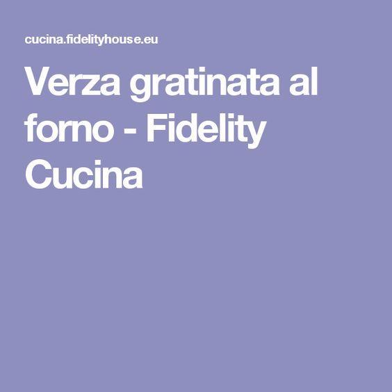 Verza gratinata al forno - Fidelity Cucina