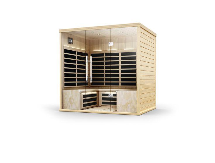 Bubbels jets helo residence infra rood sauna nieuwste generatie de energie vriendelijkste en