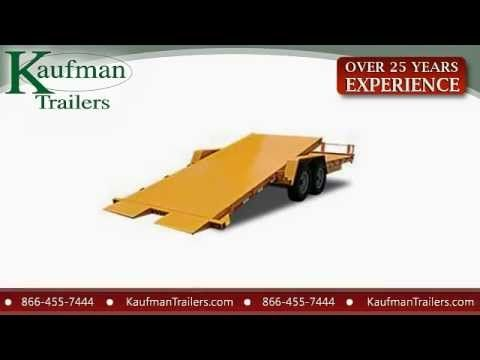 Equipment Trailers for Sale by Kaufman Trailers - Call Today! 866-455-7444