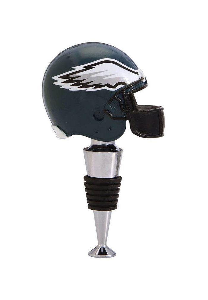 Philadelphia Eagles Football Helmet Wine Bottle Stopper
