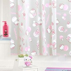 shower curtain: Showers, Bubbles Shower, Kitty Obsession, Kitty Shower, Kitty Mania, Shower Curtains, Pink Bubbles, Hello Kitty, Hellokitti Showercurtain
