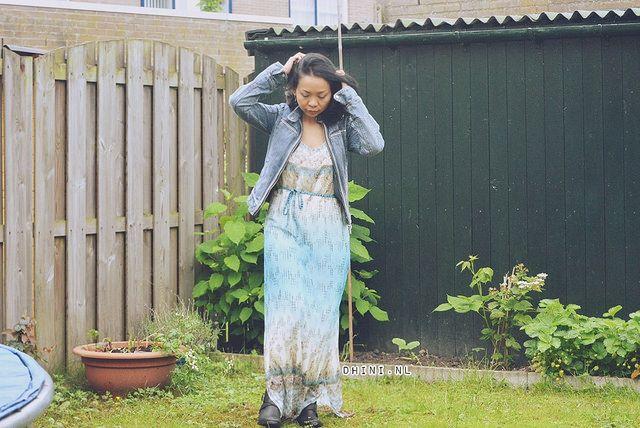 Geisha maxi jurk