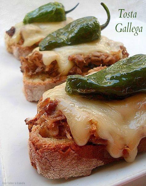 Con sabor a canela: Tosta gallega