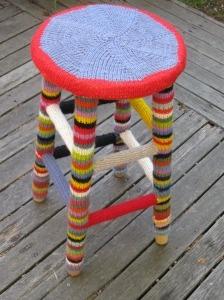 Yarn bombing site