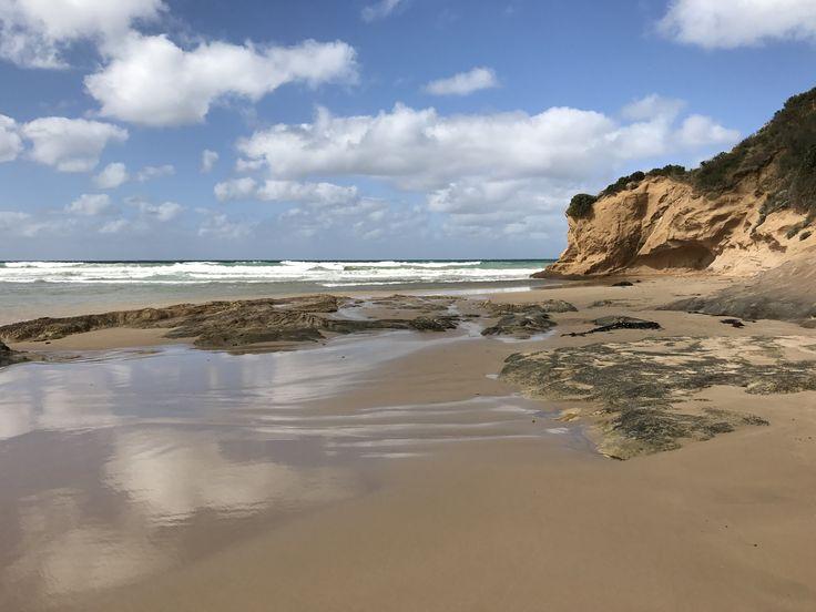 Beach at Point Roadknight, Victoria, Australia